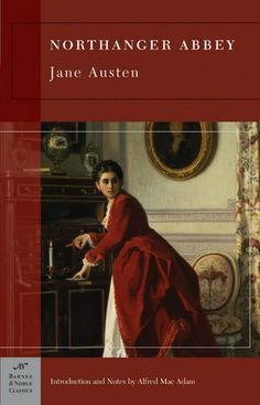 Leave it to Jane Austen to write a book that is both about a love of reading and a warning not to let your imagination run away with you.