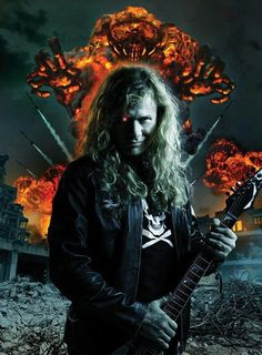 Dave Mustaine of Megadeth.......