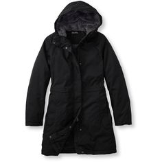 L.L.Bean Winter Warmer Coat  Misses Petite ($119) ❤ liked on Polyvore featuring l.l.bean
