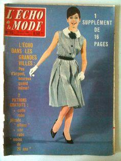 L'echo de la mode n° 15 année 1960;