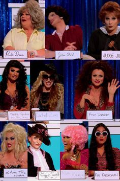 RuPaul's Drag Race Season 6 Snatch Game Challenge