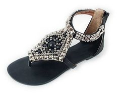 What to Wear: India Vacation style  Beaded Sandals from Oasap