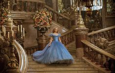 Check out two new Cinderella clips featuring Lily James, Richard Madden and Helena Bonham Carter as well as 25 images from the upcoming Disney film.