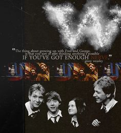 Anything is possible if you've got enough nerve. - Lessons learned from Fred and George Weasley