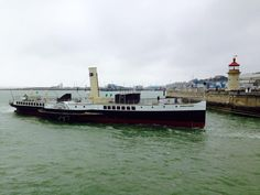 Mark StanfordAssociation of Dunkirk Little Ships (official) Medway Queen entering Ramsgate this morning.