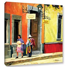 ArtWall Streets of Mexico Gallery Wrapped Canvas Art by Rick Kersten, 24 by *** Be sure to check out this awesome product. (This is an affiliate link) Painting Frames, Painting Prints, Wall Art Prints, Canvas Prints, Framed Prints, Canvas Frame, Canvas Wall Art, Canvas Size, Canvas Canvas
