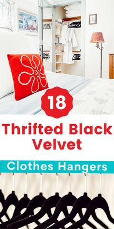 Bedroom Ideas, Bedroom Decor, Clothes Hangers, Consignment Shops, Garden Shop, Closet Bedroom, Guest Bedrooms, Inspirational Gifts, Closet Organization