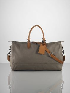 Washed Canvas Duffel - Bags   Business Accessories Men - RalphLauren.com 9f1686cda8167
