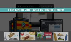 Explaindio Video Assets Combo Review: Creating Videos Gets Easier Free Video Editing Software, Vídeos Youtube, Film School, Easy Video, Create Website, Sem Internet, Marketing, Music Videos, The Creator