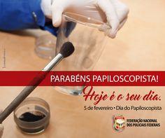 FENAPEF - 05 de Fevereiro - Dia do Papiloscopista