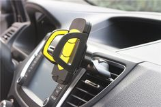 new car-styling Universal car air conditioner outlet car phone holder 360 Degree Rotation adjustable CD slot mobile phone holder