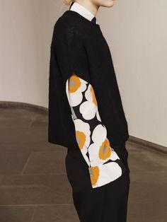 tiny place happy but - exercicedestyle: marimekko School Fashion, Fashion 2018, Womens Fashion, Marimekko, Professional Wardrobe, Looks Black, Fashion Details, Fashion Design, City Style