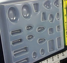 Reusable 22 cavity plastic mold for resin by ResinObsession, $9.49