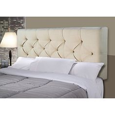 MJL Furniture Designs Jackie Collection Padded and Diamond Tufted Upholstered Solid Wood Full Size Headboard, HJM100 Series, Dark Gray Looking bedroom decoration ideas... - http://aluxurybed.com/product/mjl-furniture-designs-jackie-collection-padded-and-diamond-tufted-upholstered-solid-wood-full-size-headboard-hjm100-series-dark-gray/