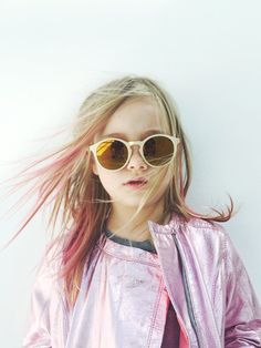 round mirrored kid sunglasses