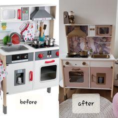 www.audrey-shop.cz Diy Play Kitchen, Hacks Diy, Diy For Kids, Kids Playing, Playroom, Kitchen Remodel, Home Improvement, Kids Room, New Homes