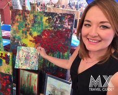 arte en san miguel de allende, lucila ramirez lanz, galerias de arte, la aurora, artistas plásticos, pintores mexicanos