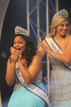 2012-2013 National All-American Miss Teen Morgan Clarkson #crowningmoment