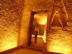 Inside Abu Simbel Temple, Egypt Travel Blog