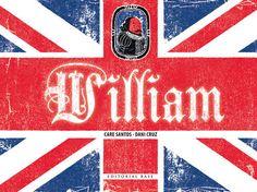 """""""William"""" es un divertido álbum con el que los más pequeños lectores podrán descubrir quién fue el bardo de Stratford recorriendo su vida y sus obras más destacadas, como """"Romeo y Julieta"""", """"Hamlet"""" o """"Macbeth""""."""