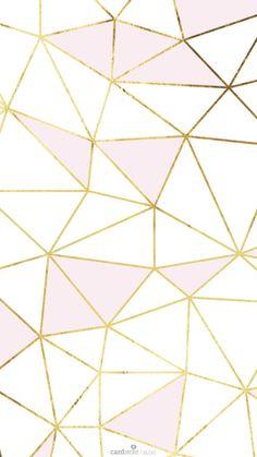 pink gold white geometric mosaic so much fun | ban.do