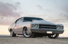 A 1971 chevelle ss...