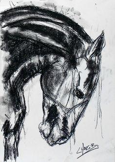 """Saatchi Online Artist CHAKIB BENKARA; Drawing, """"DEJA VUE III"""""""