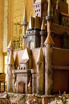 The Gingerbread Castle really is ruggedly handsome.