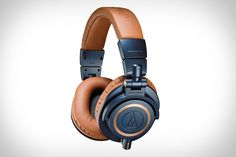 Audio-Technica M50X Headphones | Featuring 45-millimeter drivers with rare earth magnets and copper-covered aluminum coils for a wide frequency range across the spectrum including deep, precise bass. The ear cups are contoured for a natural fit, isolating you in even the loudest spaces, while also pivoting for one ear use and folding for when you need to take them with you. ( $190 )