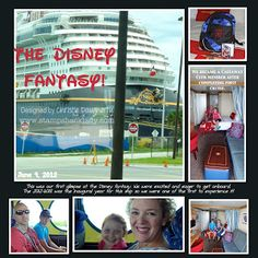 The Disney Fantasy....no other ship quite this magical! Great for ALL ages!! And we went on our Disney Vacation Club Points:)