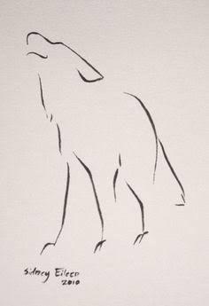 Resultado de imagen para wolf japanese stroke tattoo