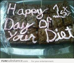 i think i'm going to do this to anyone who tells me they're going on a diet!!