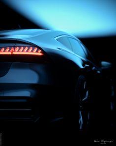 Steve Stiglmayr on Behance Audi A7 Sportback, Blessed, Behance, Faces, Future, Car, Artist, Future Tense, Automobile