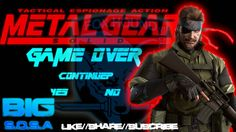 BIG S.O.S.A - Game Over (Metal Gear Solid)