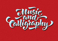 Music and calligraphy byKsenia Belobrova
