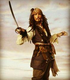 Captain Jack Sparrow (Johnny Depp) - Pirates Of The Caribbean Johnny Depp Pictures, Johny Depp, U Kiss, Captain Jack Sparrow, Pirate Life, It Movie Cast, Photo Memories, Pirates Of The Caribbean, Actors