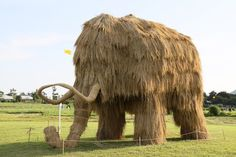 Towering Sculptures of Monsters Made of Straw - My Modern Metropolis