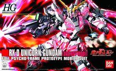 RX-0 Unicorn Gundam (Destroy Mode) from Mobile Suit Gundam UC (Unicorn)