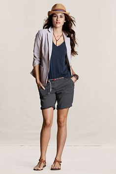 Women's Bermuda Shorts from Lands' End Canvas