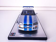 Nissan Skyline GT-R34 2Fast2Furious ERTL 1:18 Paul Walker