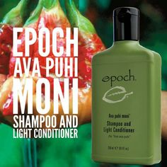 Epoch®Ava puhi moni®Shampoo and Light Conditioner gently cleanses and hydrates, leaving your hair clean, vibrant, and lustrous. Nu Skin, Advanced Hair, Organic Shampoo, Skin Food, Epoch, Shampoo And Conditioner, Anti Aging Skin Care, Health And Beauty, Ava