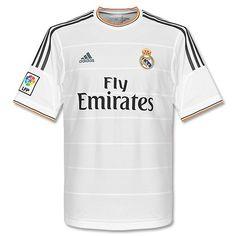 61b94a393a4 Camiseta del Real Madrid 2013-2014 Local Soccer Kits