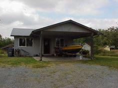 10 Acres fenced pasture w/ winter creek, views of Cascade Mtns & territory, cozy 1 bedrm w/ covered porch & 2 car carport. 576 sqft barn for critters, 200 sqft storage bldg, 800 sqft 3 sided pole bldg for toys, equipt etc (All sqft per SCA), house was built w/ addition in mind, & there are several great building sites for a new home. Some woods at south end of property, rest is rolling pasture. Fruit trees & garden spot, live on property while you build, great for horses, close to I-5…