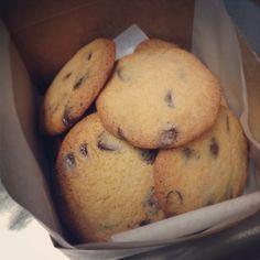 Chocolate chip cookies   #chocolatechipcookies #cookies #cookiegifts #sweetruminations #warminsterpa  (at Sweet Ruminations 228 York Rd Ste B ...