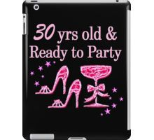 iPad Case/Skin http://www.redbubble.com/people/jlporiginals/collections/396191-30th-birthday #30thbirthday #30yearsold #Happy30thbirthday #30thbirthdaygift #30andfabulous #turning30