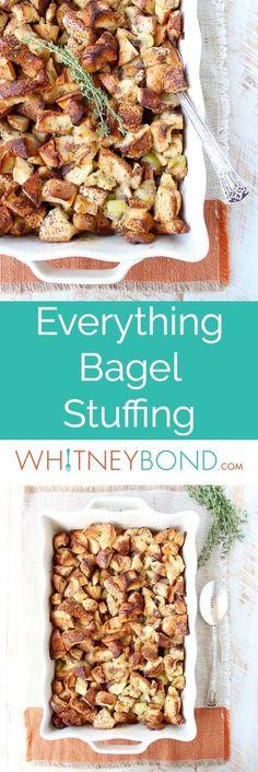 everything bagel stuffing