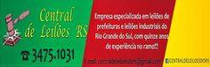 CENTRAL DE LEILOES  DO RS: MAIS UM INSTRUMENTO DE PROPAGANDA QUE ANGARIAMOS P...