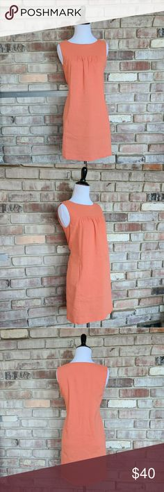 Theory Shift Dress Super cute linen like dress with pockets! Excellent condition! Theory Dresses