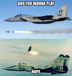 No one ever wants to play catch with us. (via Air Force Nation)