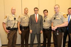 Governor Rick Perry and Security, 9-11-15